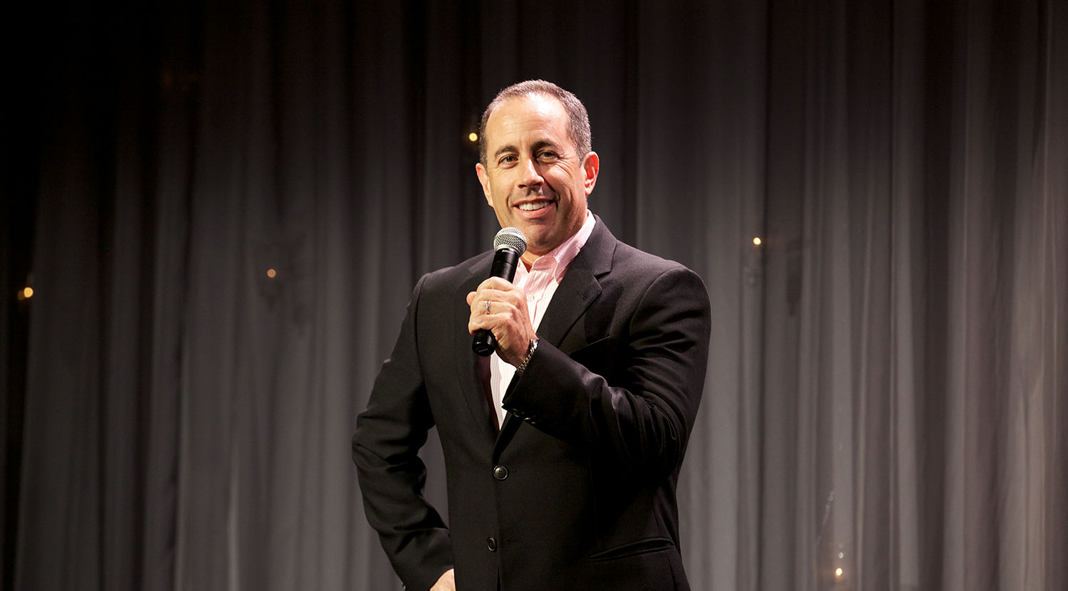 Jerry Seinfeld shares his experience with the TM technique at the Gala